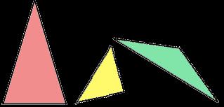 Likbenta trianglar