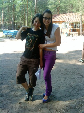 Jag och en elev